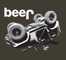 "Funny ""beer"" 4x4 Jeep by robotface"