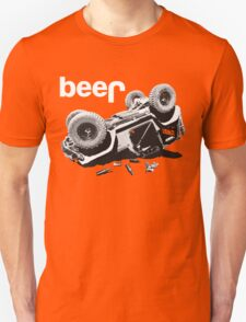 """Funny """"beer"""" 4x4  Unisex T-Shirt"""