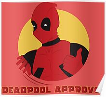 Deadpool Approves Poster
