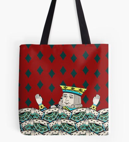 Red King Overboard Tote Bag