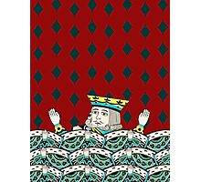 Red King Overboard Photographic Print