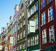 Buildings In Gdansk by PatiDesigns