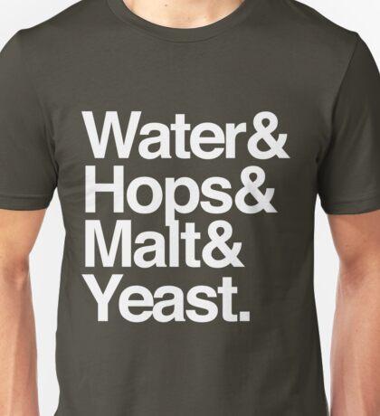 Beer Ingredients Unisex T-Shirt