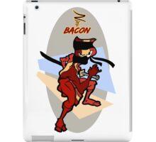 Ninja Bacon iPad Case/Skin