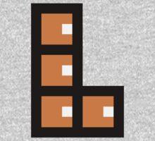 Pixel L-Block One Piece - Short Sleeve