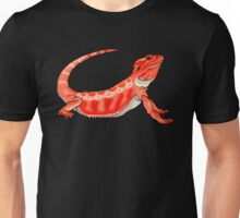 Red Bearded Dragon Unisex T-Shirt