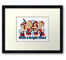 What a Bright Time! Framed Print