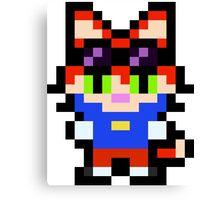 Pixel Blinx Canvas Print