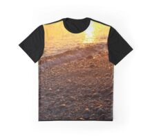 Beach Pebbles | East Marion, New York Graphic T-Shirt