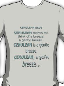 Cerulean Blue T-Shirt