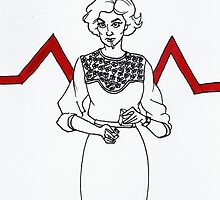 Audrey Horne by holy-molars
