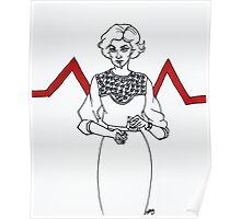 Audrey Horne Poster