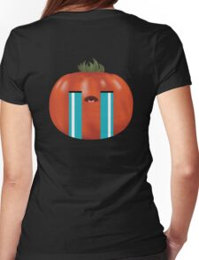 Emotional Heirloom Tomato Womens Fitted T-Shirt