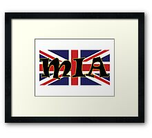 Mia (UK) Framed Print
