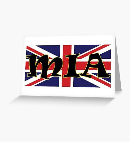 Mia (UK) Greeting Card
