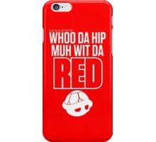 Inside Gaming: WHOO DA HIP MUH WIT DA RED iPhone Case/Skin