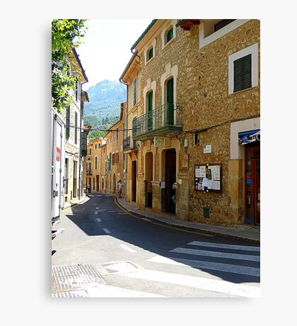 Fornalutx In The Tramuntana Mountains.....................Majorca Canvas Print