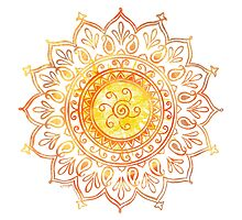 Decorative Indian Sun  by ArtVixen