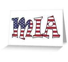 Mia (USA) Greeting Card