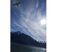 Vincent van Gogh Sky Glacier Bay Alaska Photographic Print