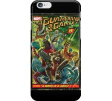 Vintage Guardians of The Galaxy Comic iPhone Case/Skin