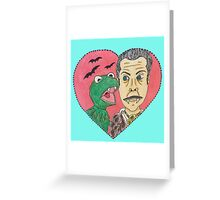 Kermit and Vincent Greeting Card