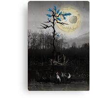 Dark Fox Canvas Print