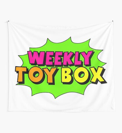 Weekly Toy Box Wall Tapestry