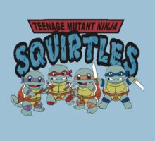 Teenage Mutant Ninja Squirtles by Chasingbart