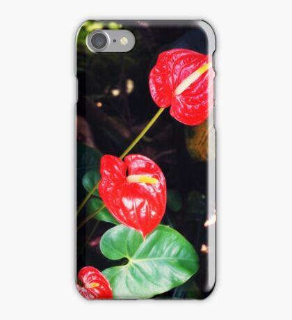 Fiery Red iPhone Case/Skin