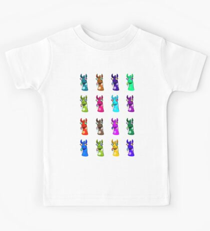 Goofy Llamas Colorful Kids Tee