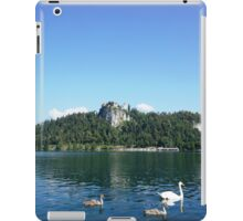 swans in Bled, Slovenia  iPad Case/Skin