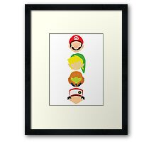 Nintendo Greats - Vertical Framed Print