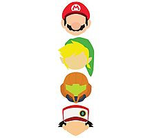 Nintendo Greats - Vertical Photographic Print
