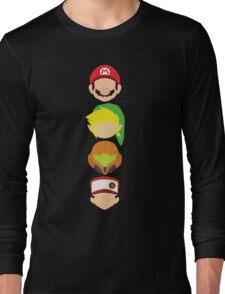 Nintendo Greats - Vertical Long Sleeve T-Shirt