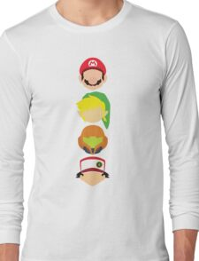 Nintendo Greats - Vertical Long Sleeve T-Shirt