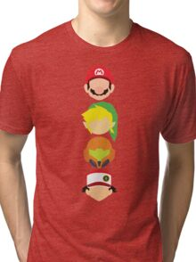 Nintendo Greats - Vertical Tri-blend T-Shirt