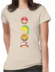 Nintendo Greats - Vertical Womens Fitted T-Shirt