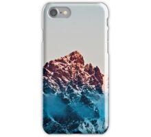 Mountain Range- Dusk - Queenstown New Zealand iPhone Case/Skin