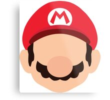 Mario - Nintendo Metal Print