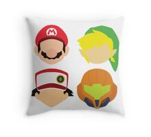 Nintendo Greats Throw Pillow