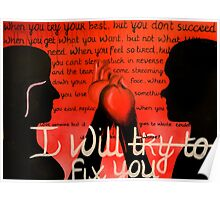 I Will Fix You Poster