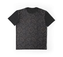 Gems: Black and Gold Graphic T-Shirt