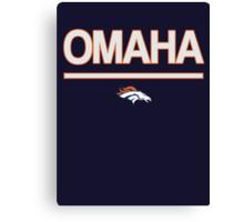 Omaha Canvas Print