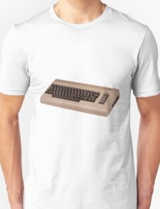 Commodore 64 - C64 - Vintage Home Computer - 8 Bit Classic Unisex T-Shirt