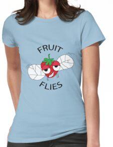 Fruit flies Womens Fitted T-Shirt