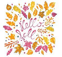 Hello Fall Photographic Print