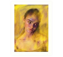 Feeling Yellow  Art Print