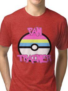 Pokemon - Pan Trainer Tri-blend T-Shirt