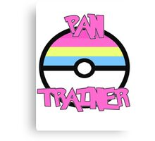Pokemon - Pan Trainer Canvas Print